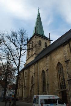 Evangelische Stadtkirche Unna:Blick in Richtung Nordosten