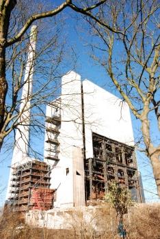 Kraftwerk Gustav Knepper : Kesselhaus von Süden