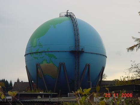 Gaskugel (Wetter-Wengern), Ansicht von Nordwesten