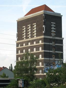 Château d'eau de la gare du sud de Dortmund