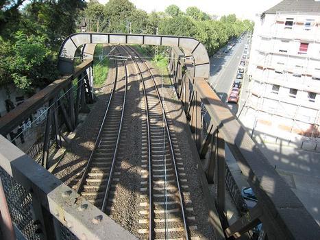 Railroad bridge across Oestermärsch at Dortmund
