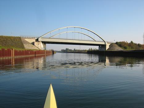 Drucksbrücke, Ansicht von Nordwesten
