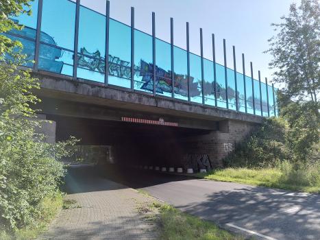 Brücke Oststraße : Ansicht von Norden