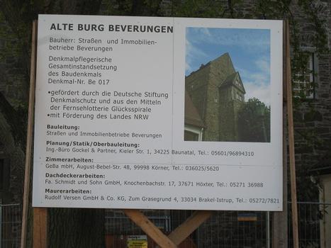 Alte Burg Beverungen (Kreis Höxter)