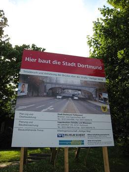 Railroad Bridge across Heiliger Weg (South)