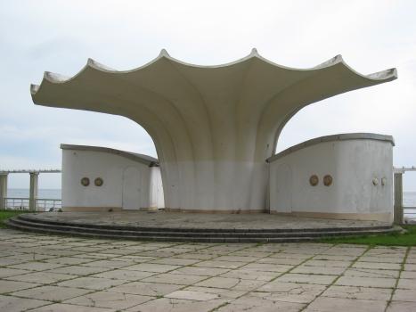 Kurmuschel in Sassnitz - Ansicht von Nordosten