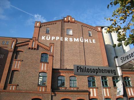 Museum Küppersmühle, Ansicht von Süden