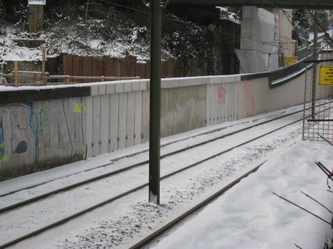 Stadtbahnbrücke über die Emscher