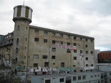 Ehemaliger Kühlbahnhof in Paris