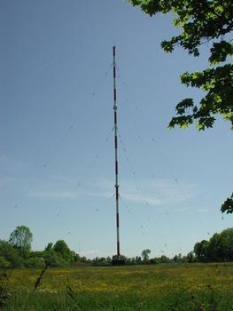 Sendemast Ismaning 801 KHz (Sender Bayern 1, Mittelwelle, 100 kW)