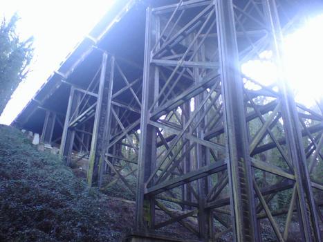Newbury St. Viaduct, Barbur Boulevard (Hwy 99W) @ George Himes Park, Portland