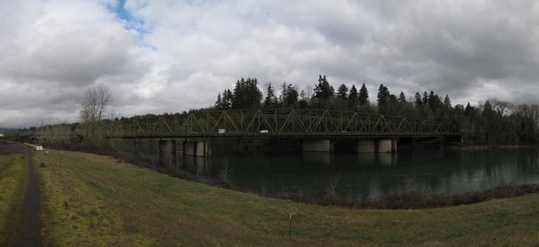 Interstate 5 North Fork Lewis River Bridge (southbound)