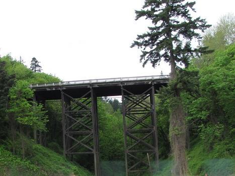 Newbury St. Viaduct on Barbur Blvd (Hwy 99W)