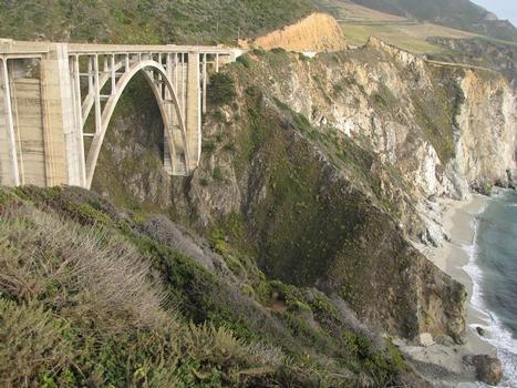 Pont sur le Bixby Creek