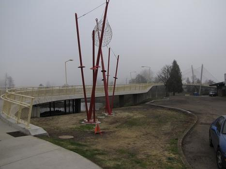 Delta Ponds Pedestrian Bridge