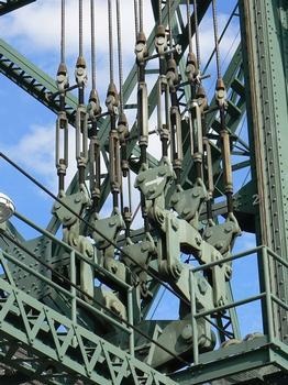 Hawthorne Bridge Lift Linkage