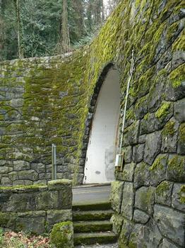 Cornell Tunnel 1 (east portal)