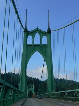 Saint Johns Bridge (Willamette River)