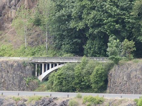 Bypassed bridge along Washington Highway 4