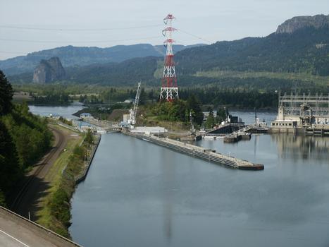 Bonneville Dam - écluses