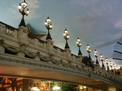 Paris Hotel - Le Pont Alexandre III Bridge replica