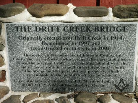 Drift Creek Covered Bridge