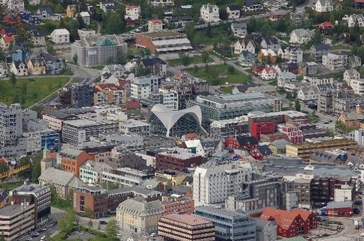 Bibliothek von Tromsø, Tromsø, Troms, Norwegen