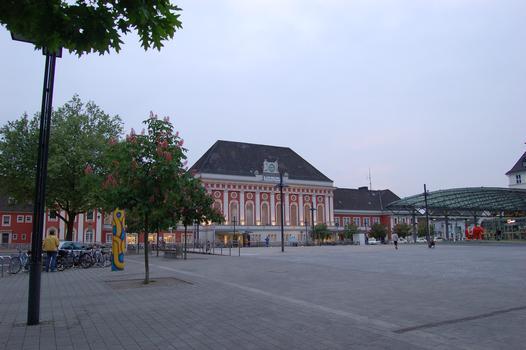 Railway Station, Hamm (Westphalia)