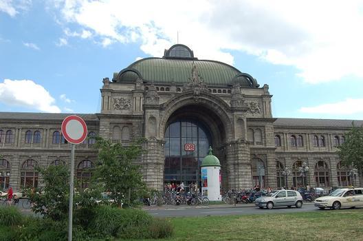 Gare centrale de Nuremberg