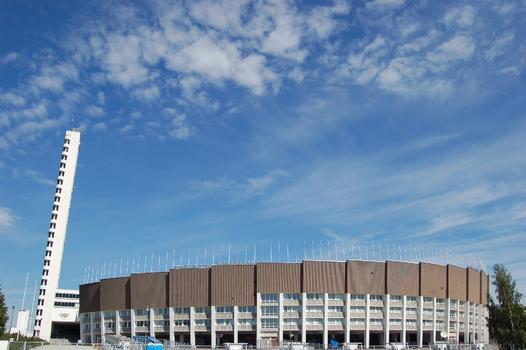 Stade olympique à Helsinki