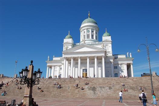 Cathédrale protestante à Helsinki