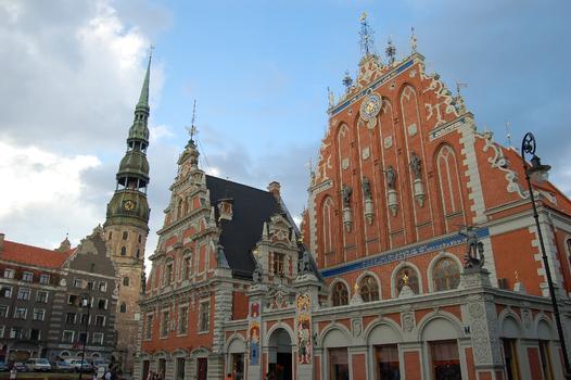 Building of the Blackheads' Organization (Riga)