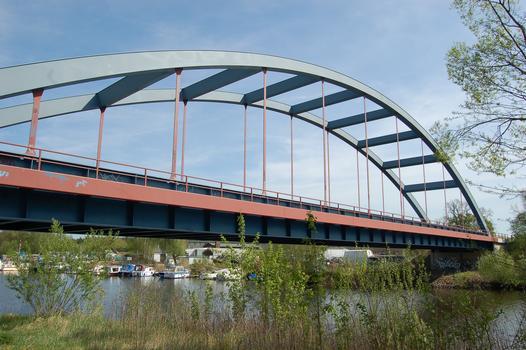 Bahnbrücke über die Havel, Hennigsdorf, Oberhavel, Brandenburg