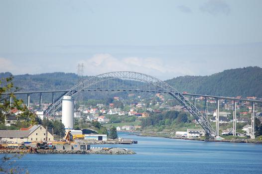 Pont du Karmsund à Haugesund