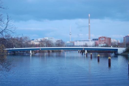 Nordhafenbrücke, Wedding, Mitte, Berlin