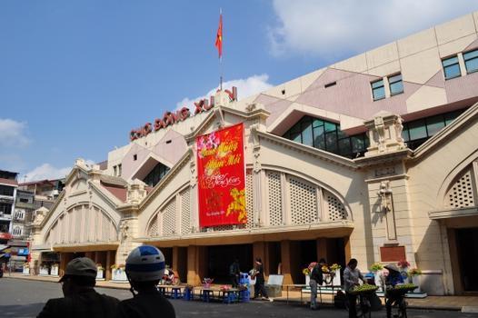 Đồng-Xuân-Markt, Hanoi