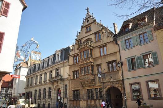 Maison des Têtes, Colmar, Haut-Rhin, Elsaß, Frankreich