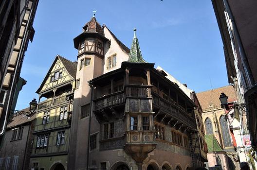 Maison Pfister, Colmar, Haut-Rhin, Elsaß, Frankreich