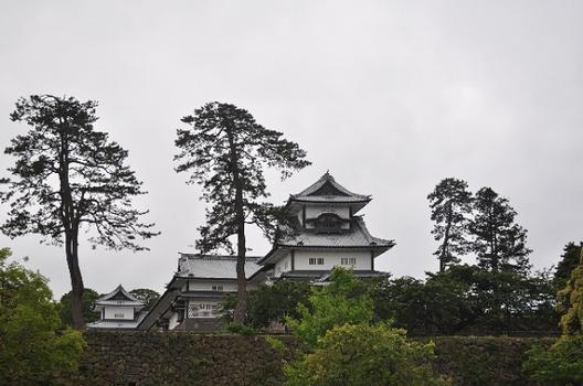 Burg Kanazawa, Kanazawa, Ishikawa, Japan