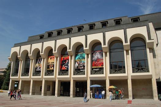 Theater Shoumen, Schumen, Bulgarien