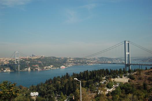 Bosphorus Bridge at Istanbul