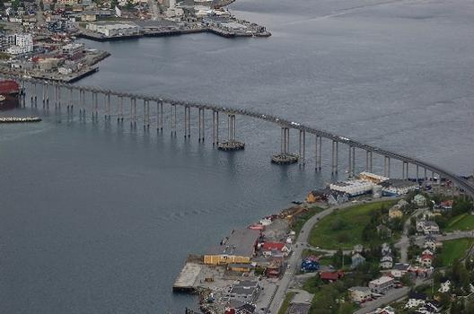 Tromsø-Bridge, Tromsø, Troms, Norwegen