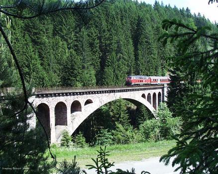 Gutachbrücke bei Lenzkirch/Kappel, Bahnlinie Neustadt-Rötenbach