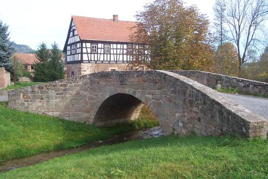 Brücke in Röbschütz, Thüringen