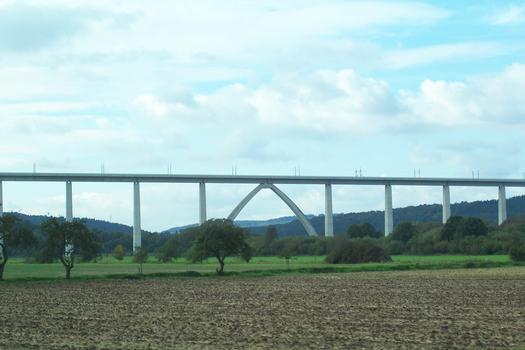 Viaduc sur la Fulda à Morschen