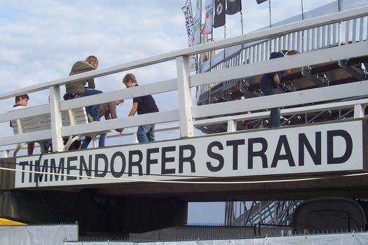 Pier at Timmendorfer Strand