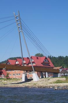 Passerelle sur le Dunajec