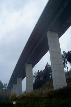 Talbrücke Albrechtsgraben in Thüringen