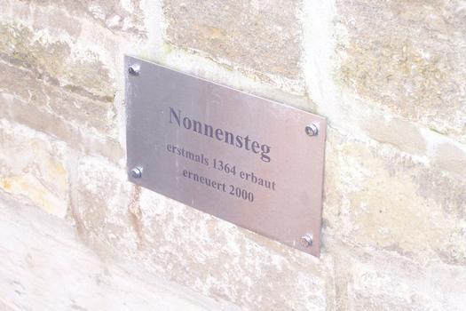 Nonnensteg, Erfurt