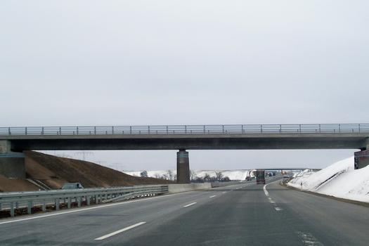 Pont sur l'A38